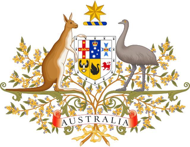 画像: オーストラリアの国章