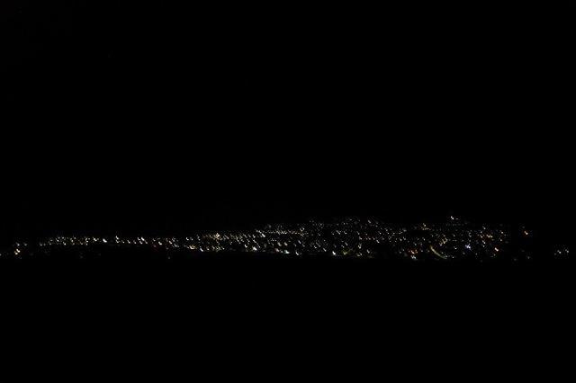 画像: 高い建物がないハンガロアの夜景(7月上旬現地スタッフ撮影)