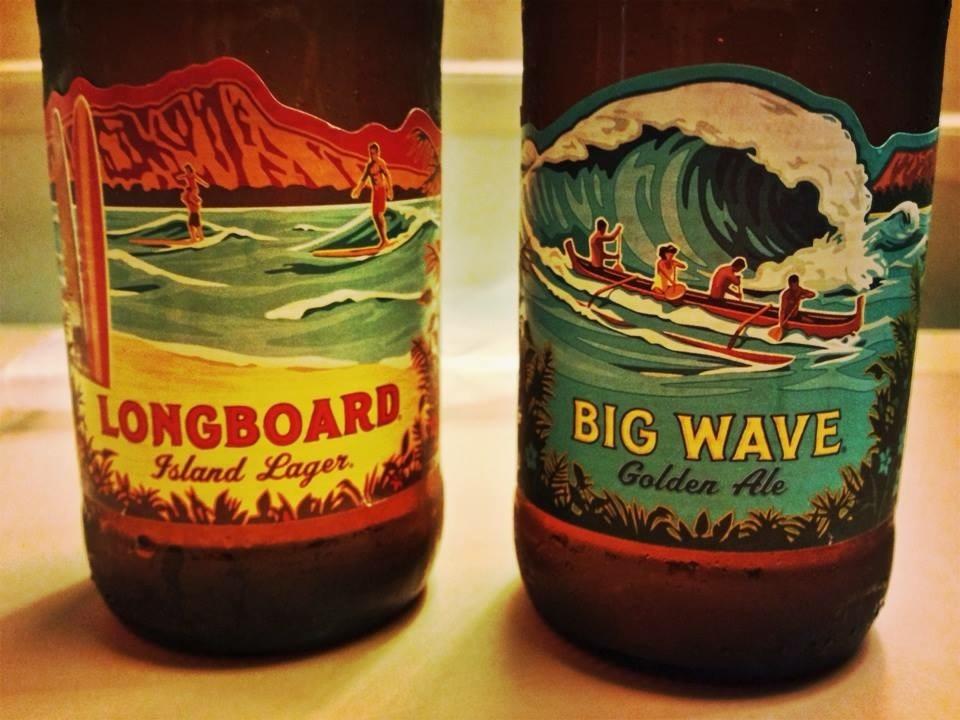 画像: 様々な種類のあるハワイアンビール(弊社スタッフ撮影)