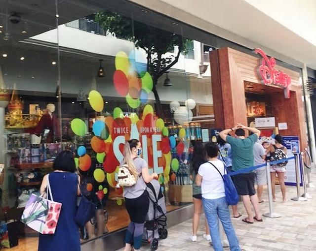 画像: アラモアナショッピングセンター内のディズニーストア(9月末日現地スタッフ撮影)
