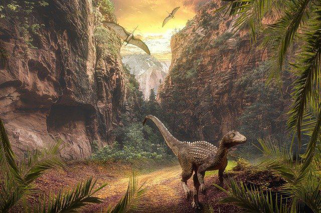 画像: 恐竜(イメージ)