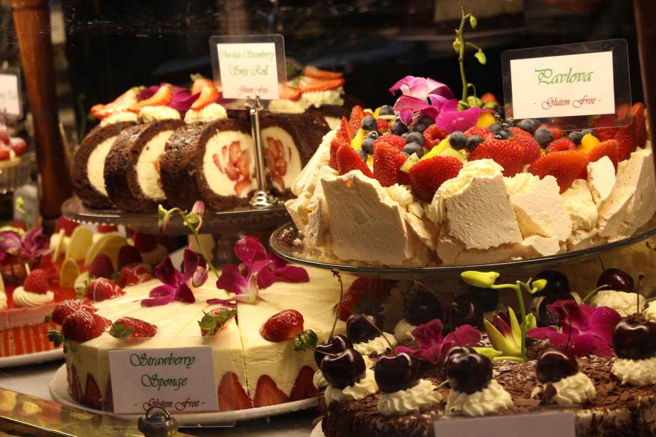 画像: かわいらしいケーキ♪