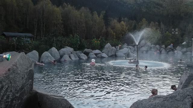 画像: ゴールドラッシュの時代に発見されたチェナ温泉(イメージ)