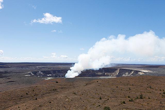 画像: キラウエア火山(イメージ)©ハワイ州観光局-HWI0002