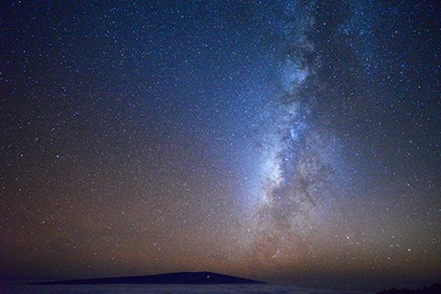 画像1: ハワイ島の星空(イメージ)