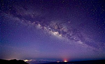 画像2: ハワイ島の星空(イメージ)