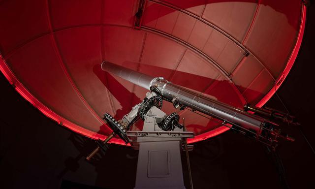 画像: 1897年 アメリカ生まれのブラッシャー望遠鏡(ダークスカイプロジェクト画像提供)