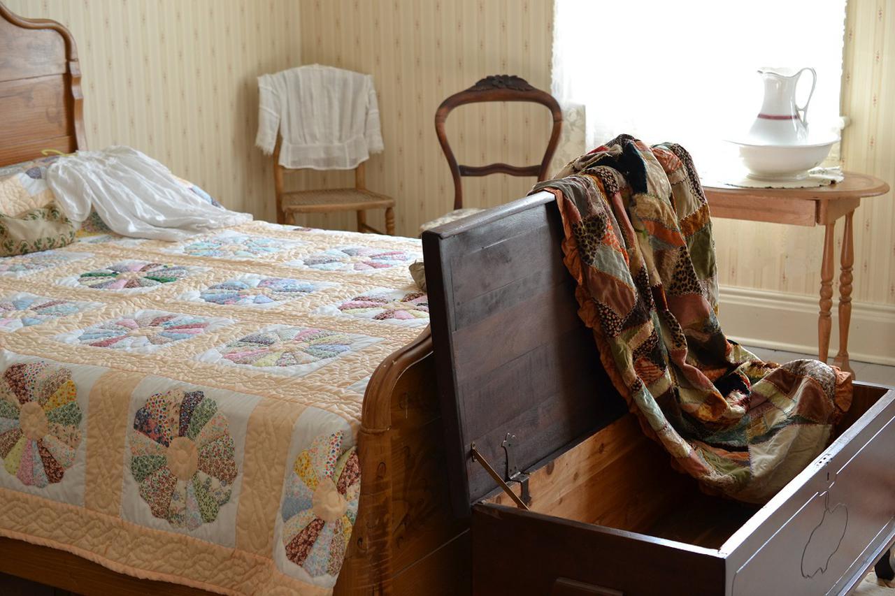 画像: モンゴメリーの寝室©Yuka Kajihara