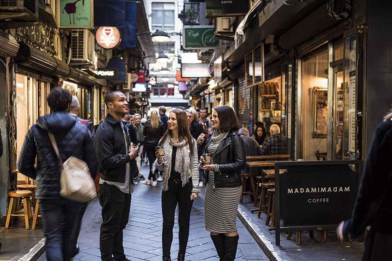 画像: カフェの街メルボルン(イメージ)