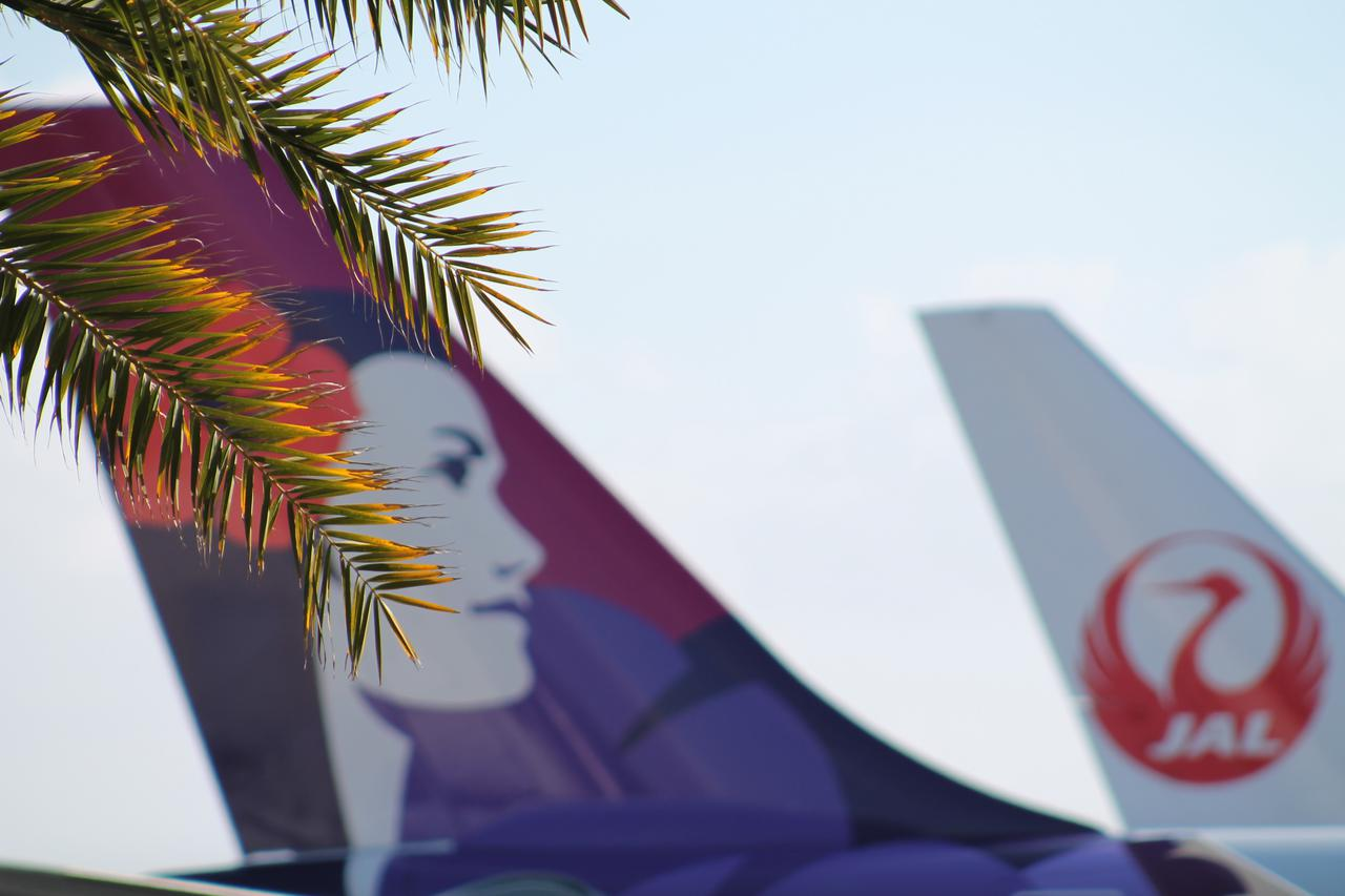 画像: サンゴ礁の上に建設されたリーフランウェイから離陸する際の景色の美しさも有名です(撮影:YUKO)