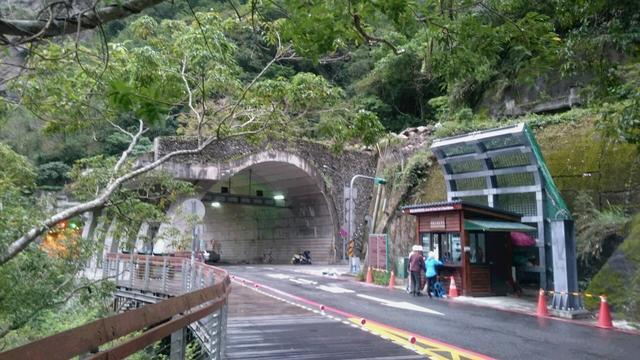 画像: 太魯閣峡谷へ通じる道路
