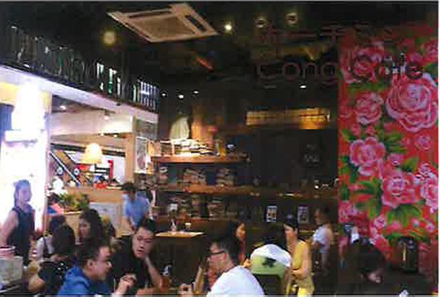 画像: ホーチミンのレストラン内部の様子(現地スタッフ撮影)