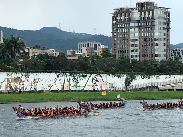 画像: 台北市内のボートレースイベント(6月下旬の4連休に開催/現地スタッフ撮影)