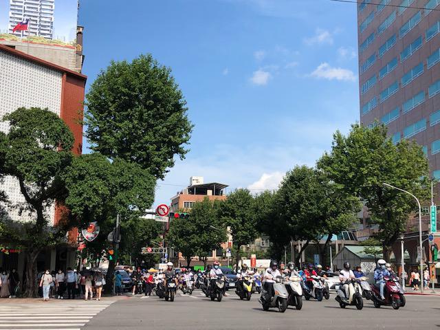 画像: 台北市内の様子(7月上旬/現地スタッフ撮影)