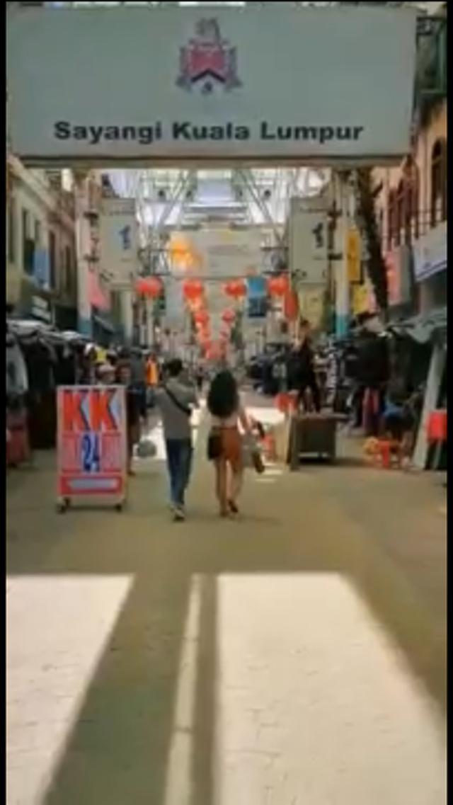 画像: チャイナタウン(クアラルンプール) 弊社現地スタッフ撮影[7月21日撮影] ~普段は観光客や買い物客でにぎわいを見せている場所ですが、未だに閑散とした雰囲気が漂っています~