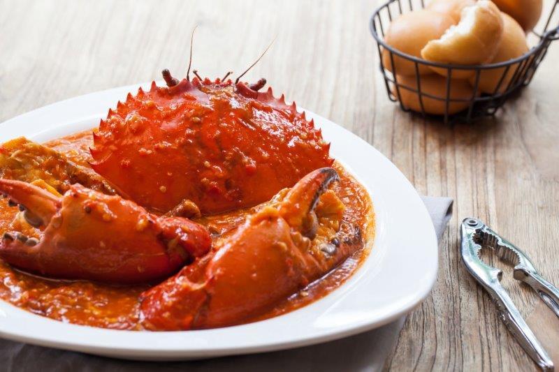 画像: 「チリクラブ」(イメージ) Red House Seafood提供