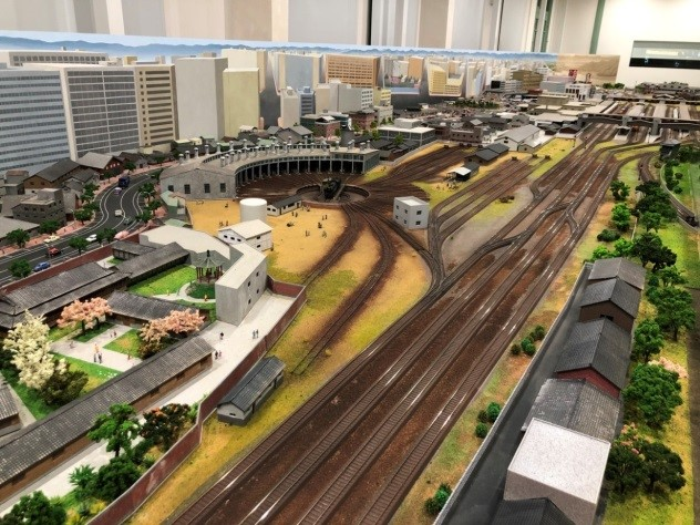 画像: 国立台湾博物館鉄道部園区内鉄道ジオラマ/現地旅行会社スタッフ撮影