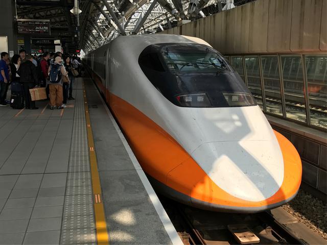 画像: 台湾新幹線/弊社スタッフ撮影