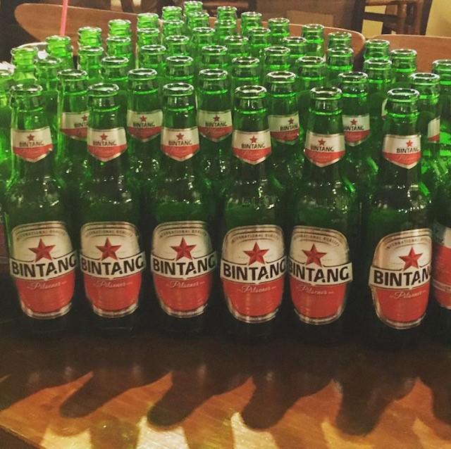 画像: ビンタンビール 提供:チャべ目黒店公式Instagram