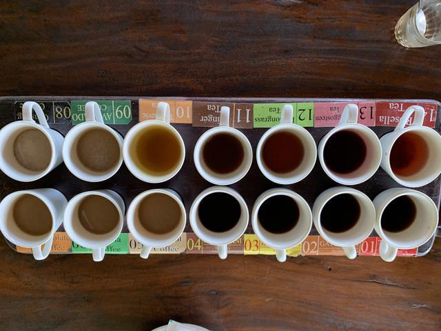 画像: インドネシアコーヒー(無料)の試飲 弊社スタッフ撮影