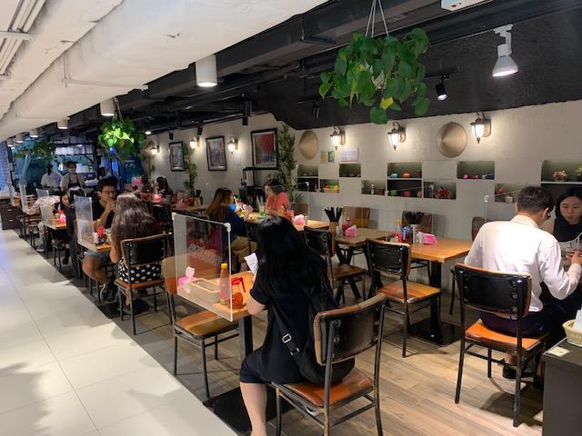 画像: 8月下旬のレストランの様子/現地旅行会社スタッフ撮影