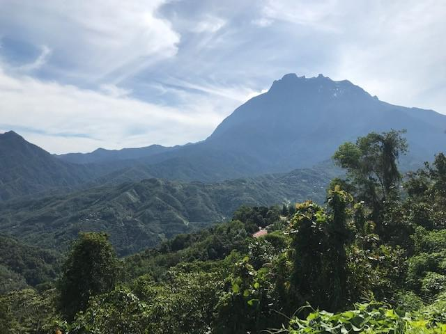 画像: 世界自然遺産「キナバル山」/弊社スタッフ撮影