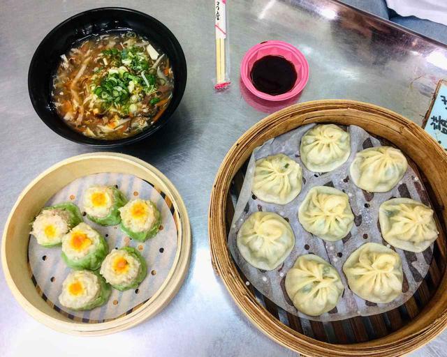 画像: 正好鮮肉小籠湯包の食事(1人前)/現地スタッフ撮影(2019年7月)