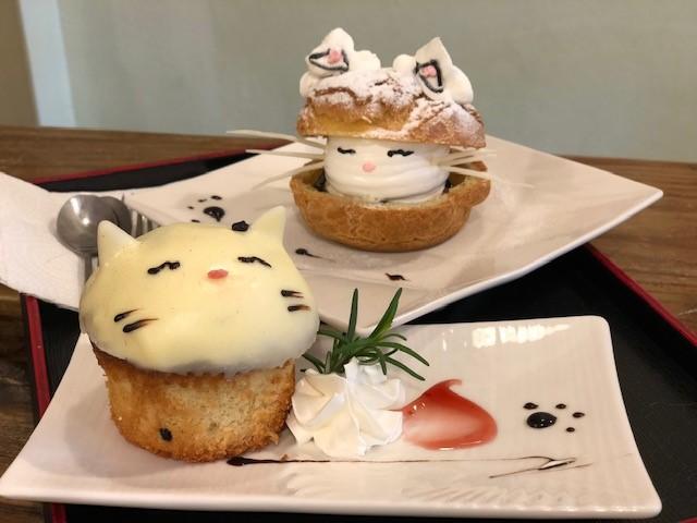 画像: 猫のケーキ/水野撮影