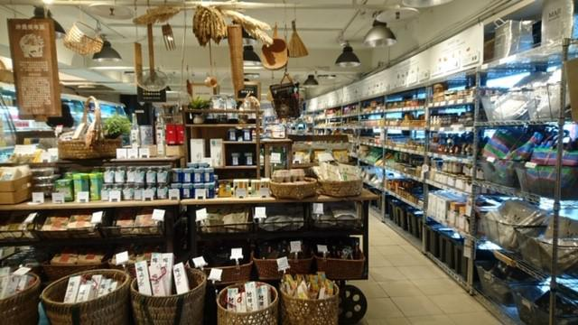 画像: 神農市場の店内/水野撮影