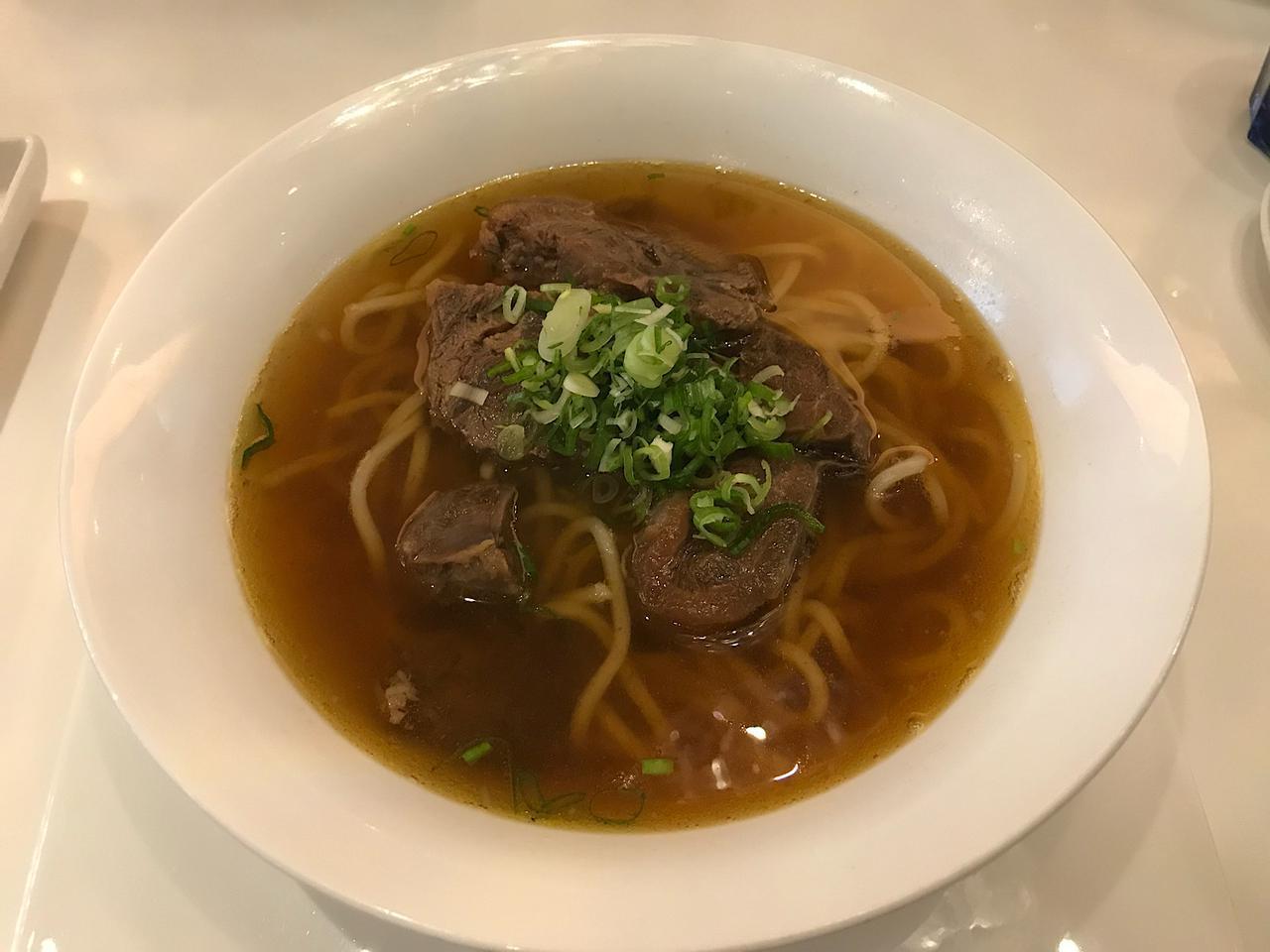 画像: 天下三絶の牛肉麺/弊社スタッフ小笠撮影(2020年2月)