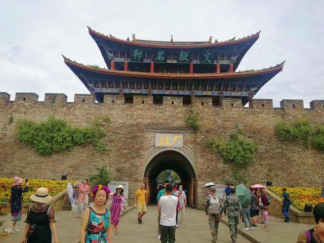 画像: 雲南省の大理古城/提供:現地手配会社(9/2撮影)
