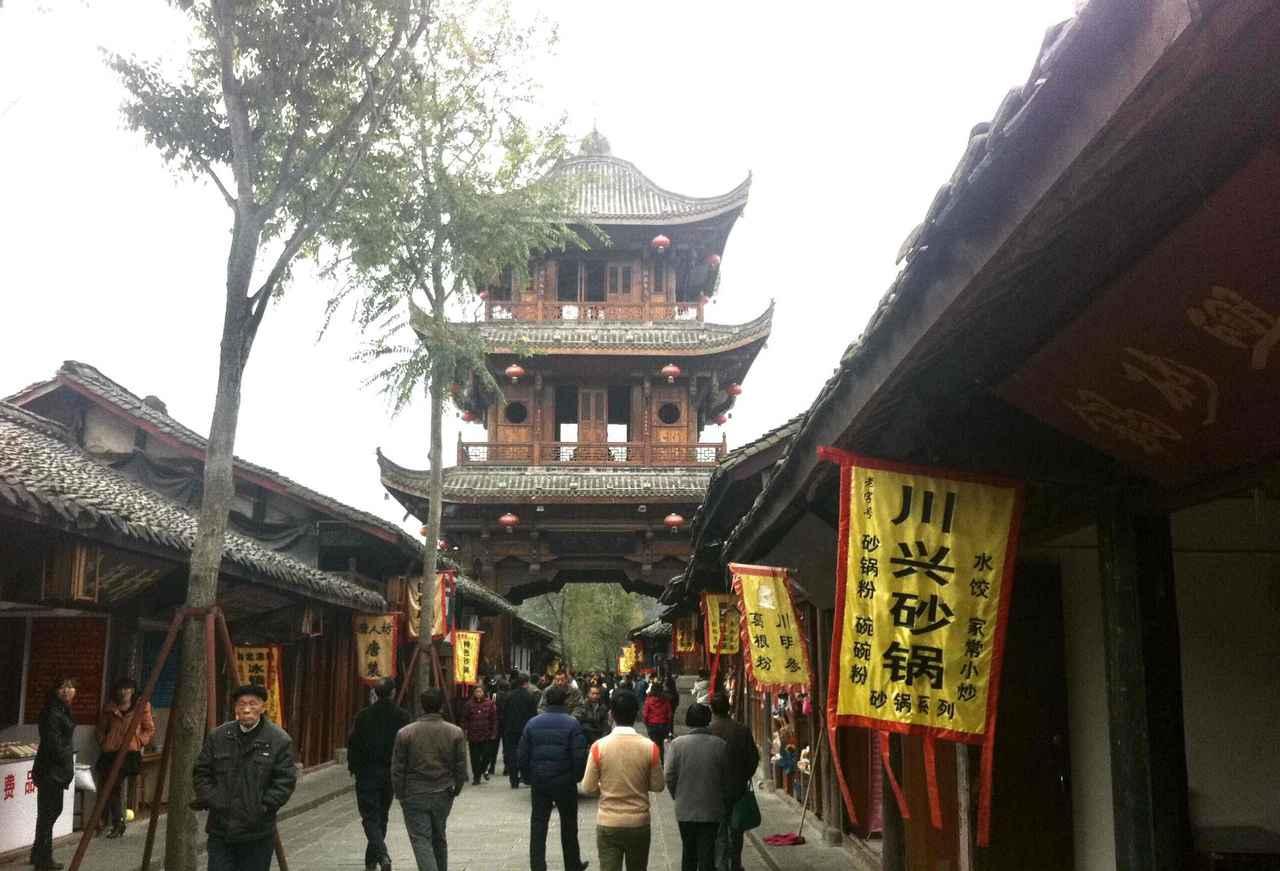 画像: 張飛が殺害されたロウ中城(イメージ)