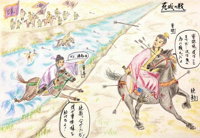 画像: 名馬・絶影(ぜつえい)~ 矢を3本負ってもなお走り、魏の初代皇帝の曹丕と不思議な運命に結ばれた?!