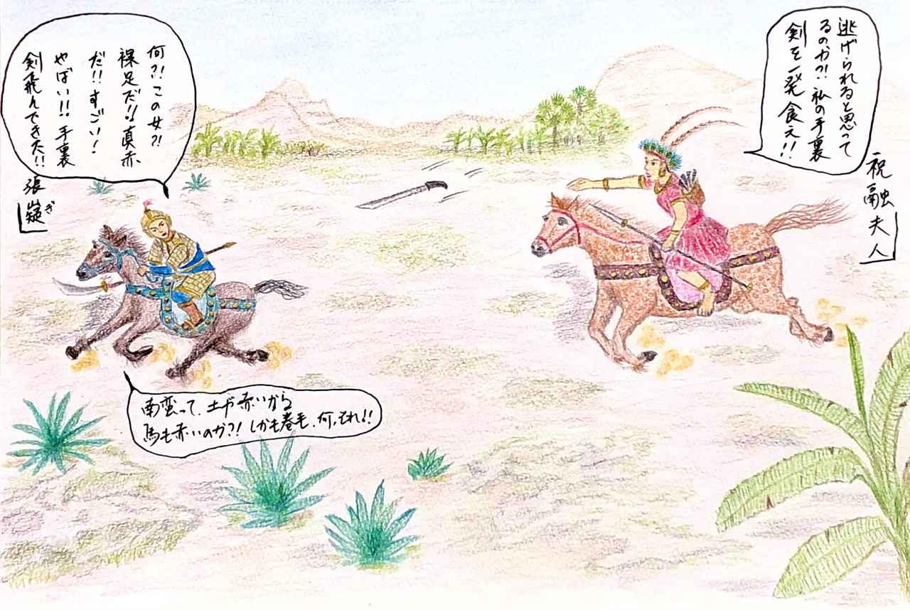 画像: 諸葛孔明が率いる蜀の大軍に挑んだ女傑(じょけつ)~祝融(しゅくゆう)夫人