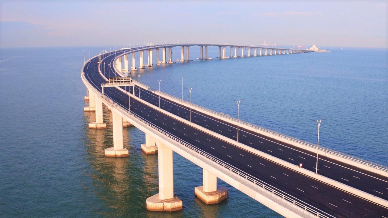 画像: 港珠澳大橋(香港政府観光局提供 イメージ)