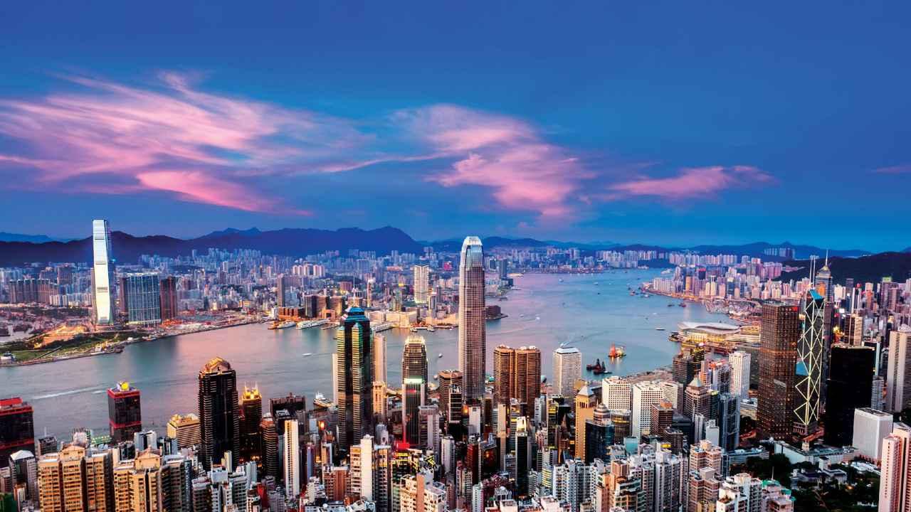画像: ビクトリアハーバー(香港政府観光局提供 イメージ)