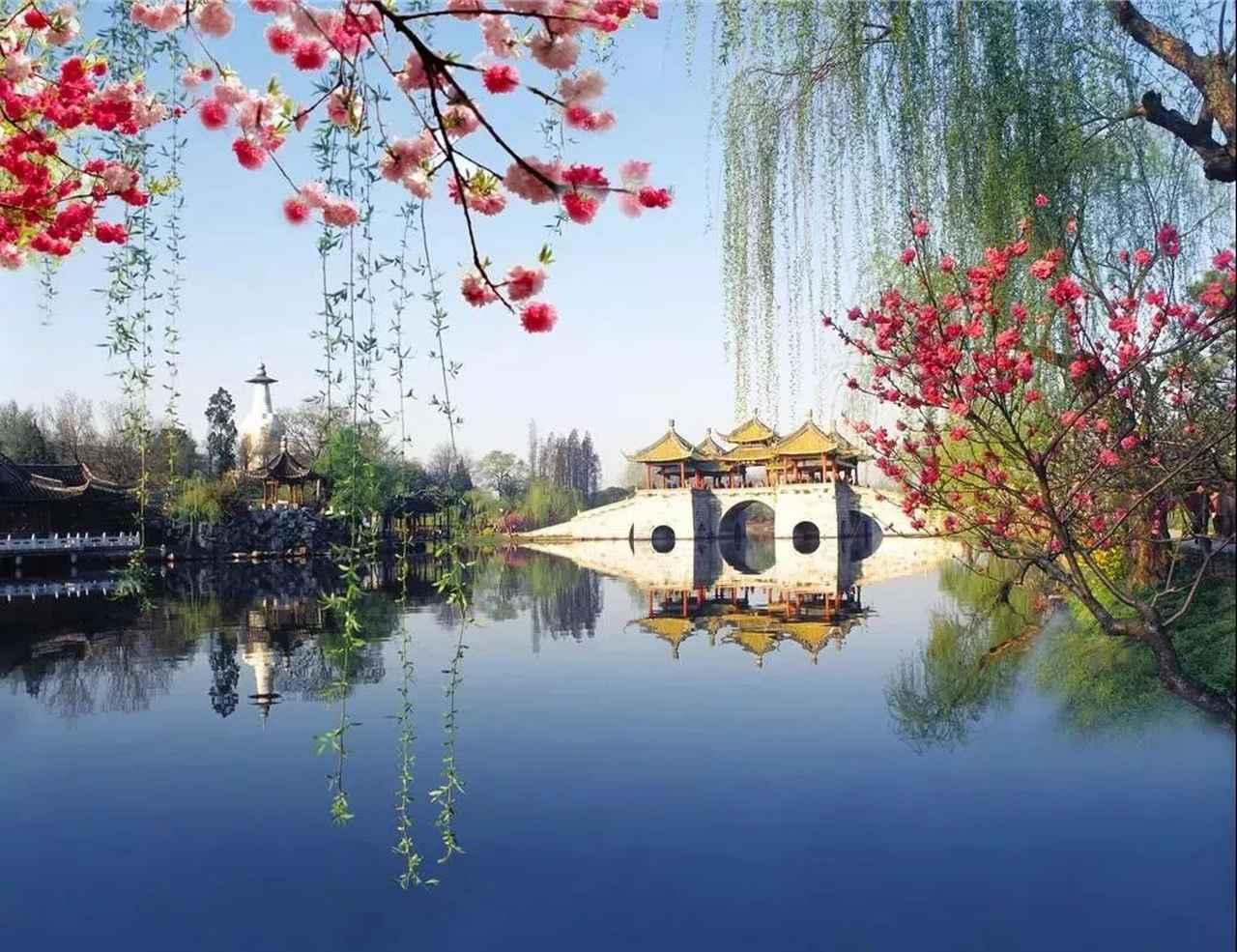 画像: 花カレンダー2021 <3月2回目> 『煙花三月 揚州に下る~中国・江南の花風景』 【好奇心で旅する海外】<花咲くワールド>