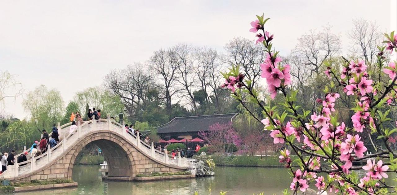 画像: 痩西湖・石造りの虹橋(弊社スタッフ3月撮影 イメージ)