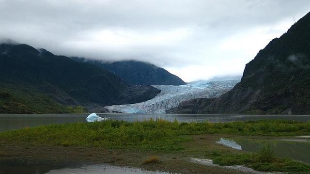 画像: メンデンホール氷河