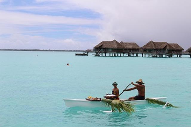 画像1: ボラボラ島