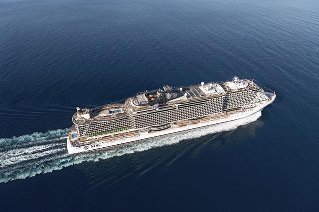 画像: 船体(イメージ)※写真は同型船 MSCシーサイド