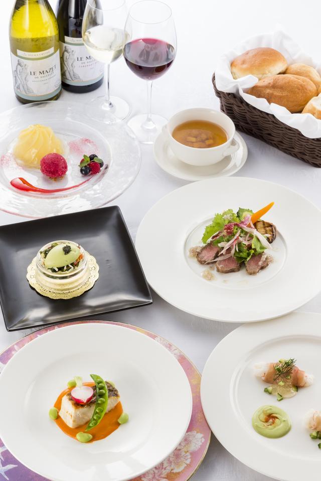 画像: 飛鳥Ⅱ夕食(洋食コース)イメージ