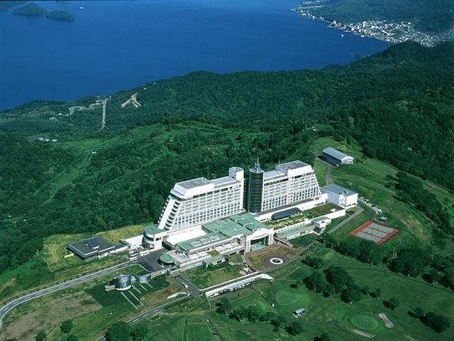 画像: ザ・ウィンザーホテル洞爺と洞爺湖(イメージ)