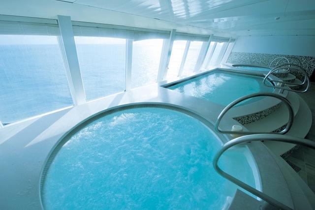 画像: 展望大浴場(グランドスパ)で海を眺めながら入浴タイム