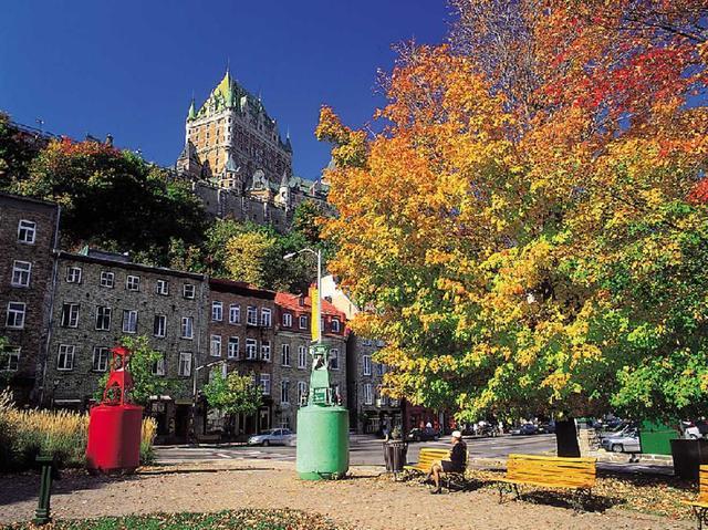 画像: 世界遺産ケベック