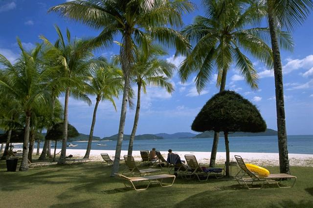 画像: ランカウイ島のビーチ