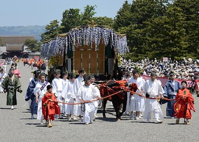 画像: 京都の葵祭り(イメージ)
