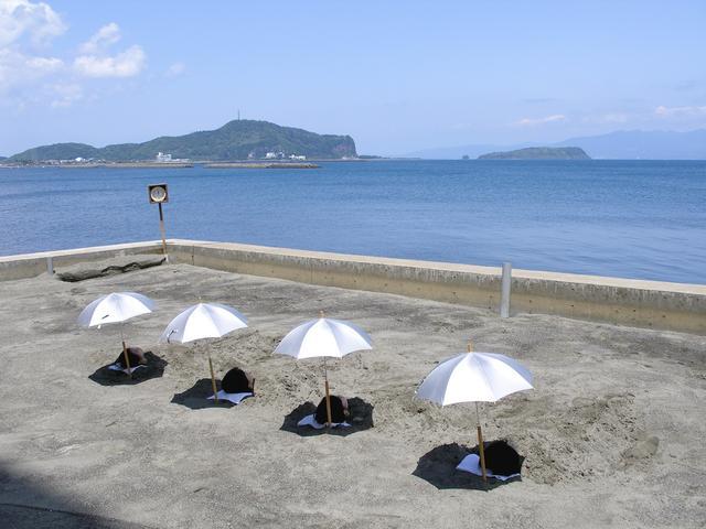 画像: 指宿いわさきホテル「砂むし風呂」(イメージ)