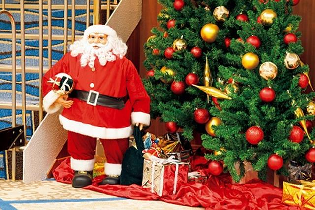 画像: にっぽん丸 クリスマスデコレーション(イメージ)