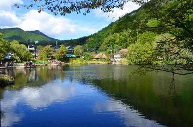 画像: 金鱗湖 ※お客様写真:川合繁男様(静岡県在住)